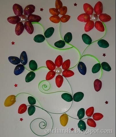 My Hobbies Pista Shell Flowers