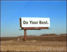mencari yang terbaik