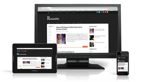 Resizable-Blogger-Template