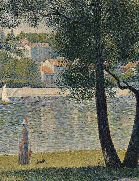 georges seurat_the seine at courbevoie