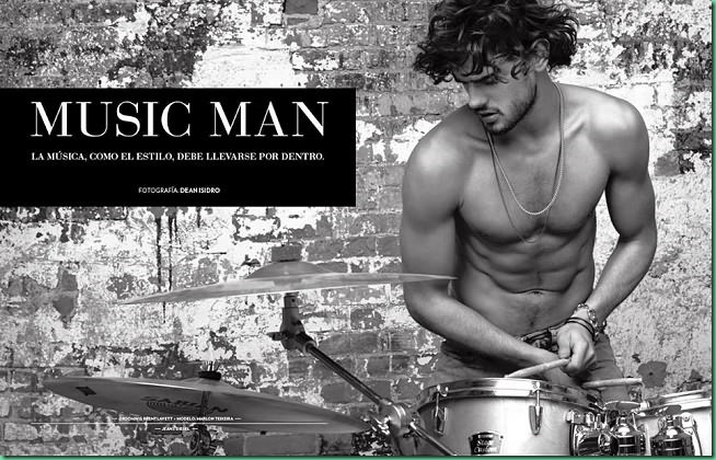 "Marlon Teixeira is ""Music Man"" for El Libro Amarillo F/W 13"