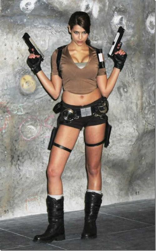 Os melhores cosplays de Lara Croft 11