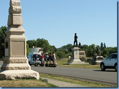 2873 Pennsylvania - Gettysburg, PA - Gettysburg National Military Park Auto Tour - Stop 15 - segways and memorials