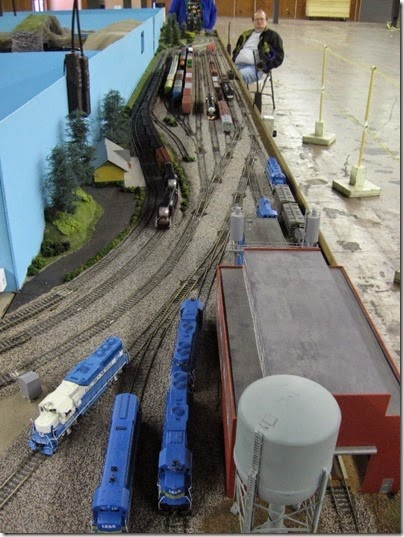 IMG_1071 LK&R Layout at GWAATS in Portland, OR on February 19, 2006