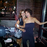 sonia & jody BBQ time in Toronto, Ontario, Canada