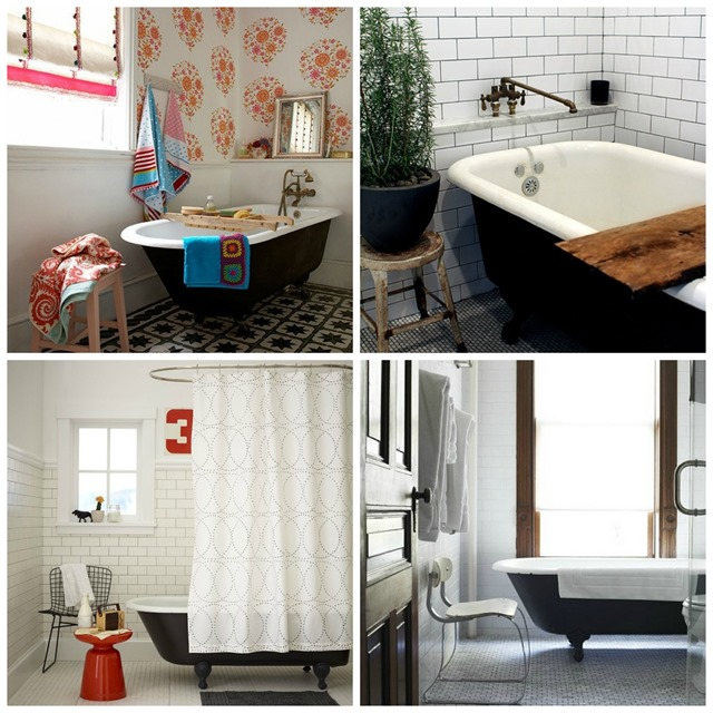 tub collage