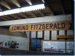5156 Michigan - Sault Sainte Marie, MI - Museum Ship Valley Camp - Edmund Fitzgerald exhibit