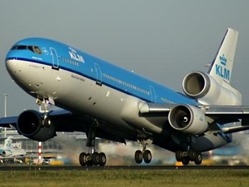 avion klm utiliza biocombustible