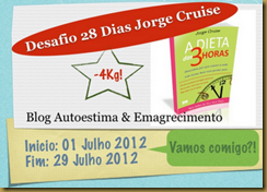 selinho desafio 28 dias jorge cruise