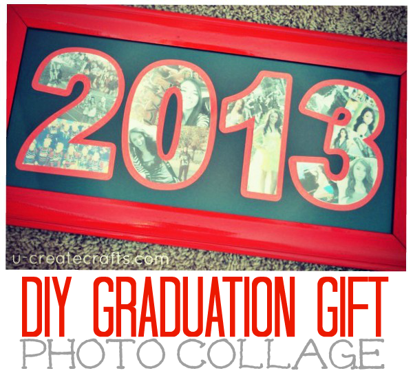 DIY Graduation Gift: Photo Collage