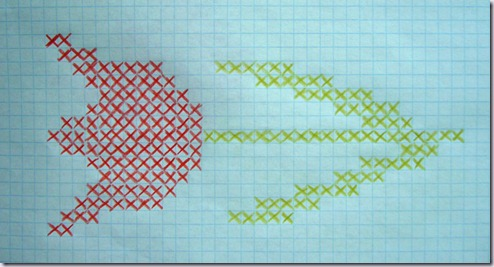 borduurpatroon-rode-tulp