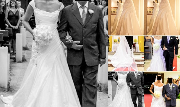Exibir Vende -  Vestido de Noiva Cymbeline