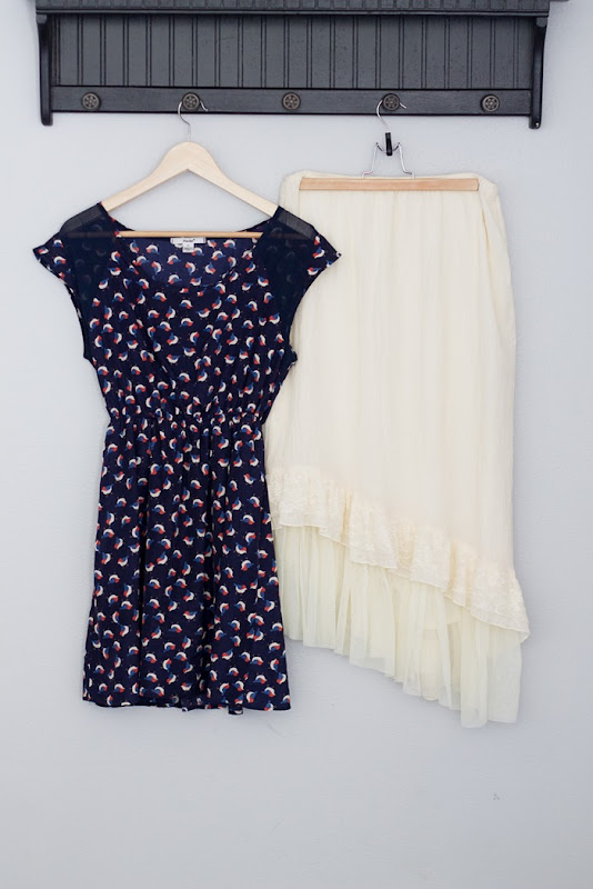 before and after thrift store dress transformation #tagsthrift