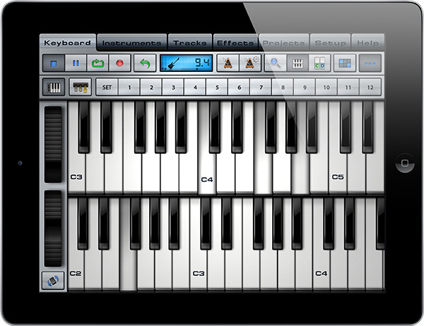 Create music on iPad!