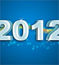 crear una tarjeta de año nuevo en Photoshop