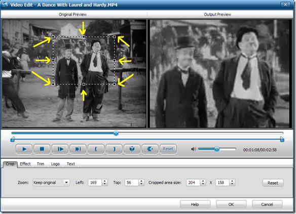 iWisoft Free Video Converter Video Edit