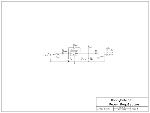 Power Supply module Schematic.