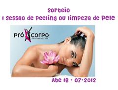 banner SORTEIO PRO CORPO