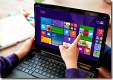 Notebook con Windows 8