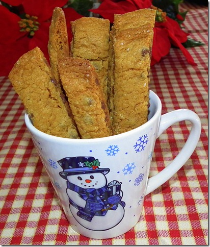 Ginger Chocolate Chip Cookie Sticks 12-15-11