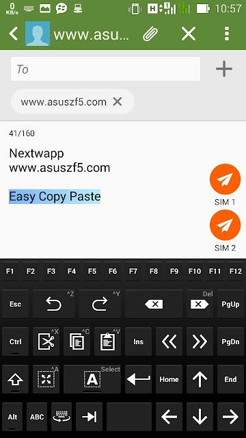 NextApp Keyboard Asus Zenfone 5