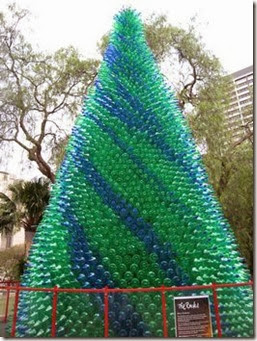 Christmas Recycled Bottles