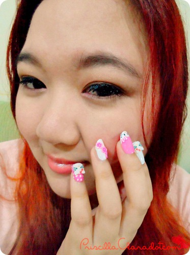 Priscilla review Felize nail art 2_副本