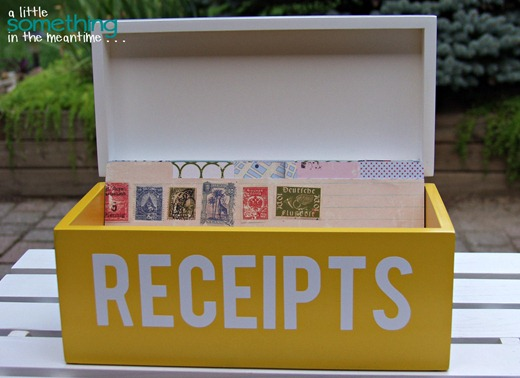 Receipt Box 3 WM