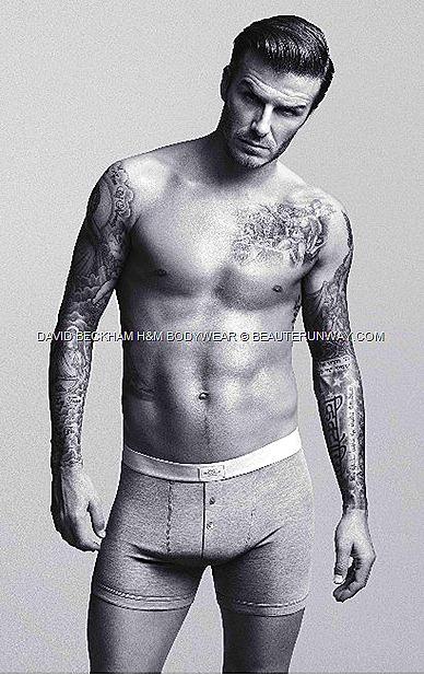 DAVID BECKHAM H&M BODYWEAR briefs, boxers, vests, T-shirts, pyjamas long johns.