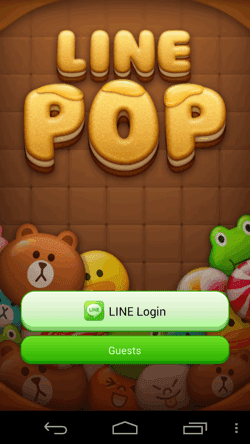LINE POP-01