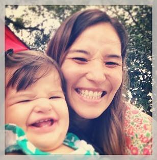 Ana Clara e mamãe pracinha