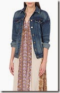 Free People Alamama Wash denim jacket
