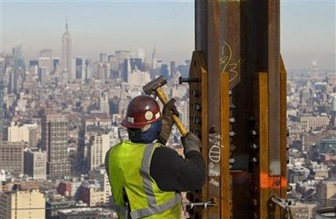WTC claims NYC height record, but experts likely to disagree on ranking among world's tallest