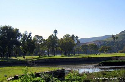 Tough golf hole