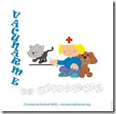 Vacunación antirrábica gratuita para caninos y felinos