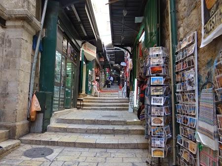 Imagini Palestina:. Bazar Ierusalim