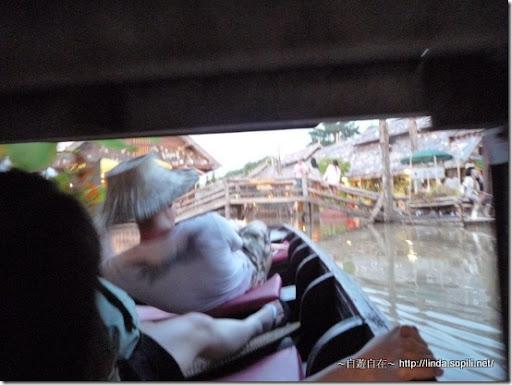泰國芭達雅-錫攀水上市場Pattaya Floating Market 下腰