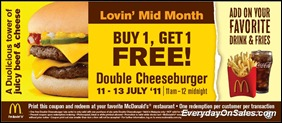 Mcdonalds-Malaysia-Lovin-Mid-Month-Buy-1-Free-1-Double-Cheeseburger-2011-EverydayOnSales-Warehouse-Sale-Promotion-Deal-Discount