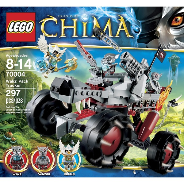 Chima Wakz Pack Tracker