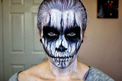 maquillaje miedo disfracesfaciles (1)