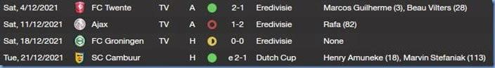 AZ matches