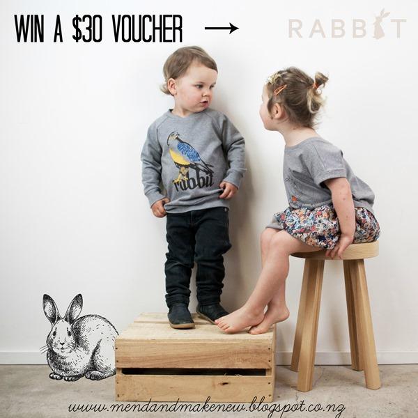 Rabbit giveaway