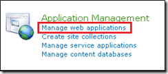 1 - Application Management