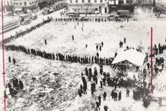 food line Oct 25, 1929