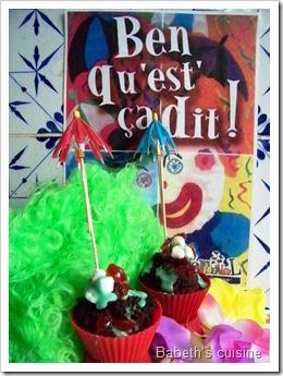 muffins de carnaval