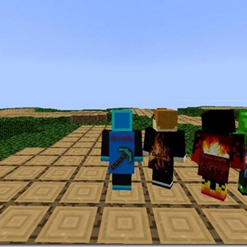 Minecraft 1.3.2 - MineCapes Mod (mantelli)