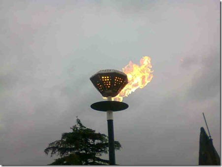 The Queen's Diamond Jubilee Beacons - Wistaston (1)