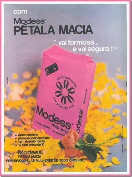 modess petala macia