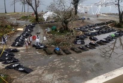 Filipinas mortes tufão