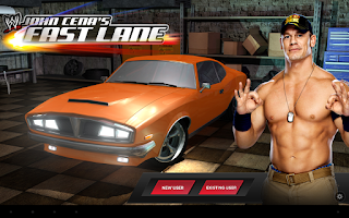 Screenshot of WWE: John Cena's Fast Lane